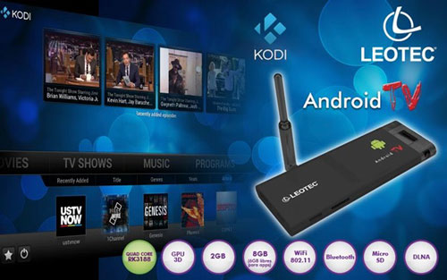 Leotec Android TV Quad Core Kodi
