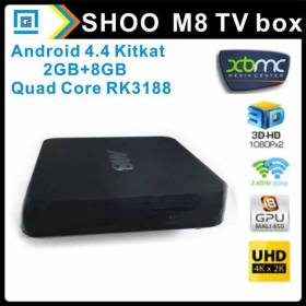 M8 Quad-Core Android TV